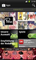 Samsung Galaxy S - Apps - Konto anlegen und einrichten - 20 / 21