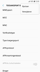 Samsung Galaxy Xcover 4 - Internet - Handmatig instellen - Stap 16