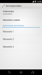Sony Xperia M2 - netwerk en bereik - gebruik in binnen- en buitenland - stap 8