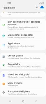 Samsung Galaxy A21s - Applications - Supprimer une application - Étape 4