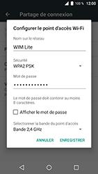 Wiko WIM Lite - Internet et connexion - Partager votre connexion en Wi-Fi - Étape 7