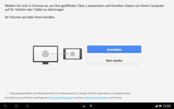 Sony Xperia Tablet Z LTE - Internet und Datenroaming - Verwenden des Internets - Schritt 4