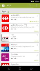 Sony Xperia V - Applicazioni - Installazione delle applicazioni - Fase 19