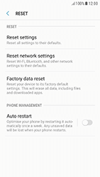 Samsung Galaxy A5 (2017) - Android Nougat - Mobile phone - Resetting to factory settings - Step 6