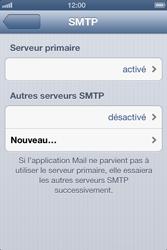 Apple iPhone 4 - E-mail - configuration manuelle - Étape 18