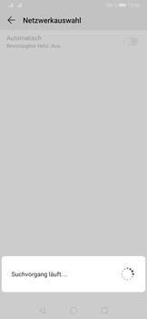 Huawei P30 - Netzwerk - Manuelle Netzwerkwahl - Schritt 8