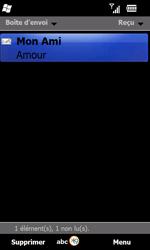 Samsung B7610 Omnia Qwerty - E-mail - envoyer un e-mail - Étape 12