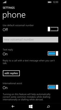 Microsoft Lumia 640 XL - Voicemail - Manual configuration - Step 7