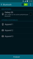 Samsung G900F Galaxy S5 - Bluetooth - connexion Bluetooth - Étape 8
