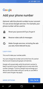 Samsung Galaxy S9 - Applications - Create an account - Step 15