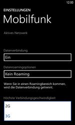 HTC Windows Phone 8S - Netzwerk - Netzwerkeinstellungen ändern - Schritt 6