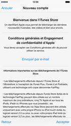 Apple iPhone 6 - Applications - Créer un compte - Étape 11