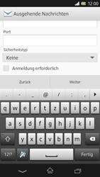 Sony Xperia Z - E-Mail - Konto einrichten - Schritt 11