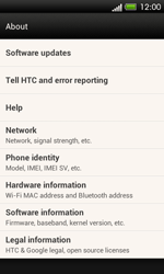 HTC One SV - Software - Installing software updates - Step 6