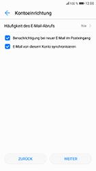 Huawei Honor 9 - E-Mail - Konto einrichten - Schritt 17