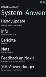 Nokia Lumia 610 - Software - Update - 0 / 0