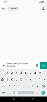 OnePlus 7 - Contact, Appels, SMS/MMS - Envoyer un MMS - Étape 8