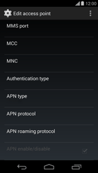 Motorola Moto G - Internet - Manual configuration - Step 11