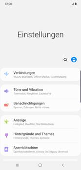 Samsung Galaxy Note 10 Plus 5G - Internet und Datenroaming - Prüfen, ob Datenkonnektivität aktiviert ist - Schritt 4