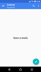 Sony Xperia X Compact (F5321) - E-mail - Handmatig Instellen - Stap 4