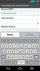 LG G2 - E-mail - Configuration manuelle - Étape 10
