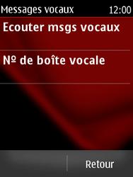 Nokia Asha 300 - Messagerie vocale - configuration manuelle - Étape 6