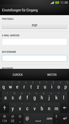 HTC One Mini - E-Mail - Konto einrichten - Schritt 8
