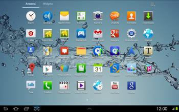 Samsung P5100 Galaxy Tab 2 10-1 - Fehlerbehebung - Handy zurücksetzen - Schritt 5