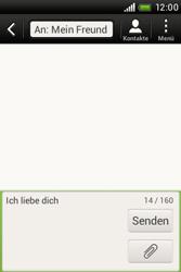 HTC Desire C - MMS - Erstellen und senden - 0 / 0