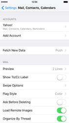 Apple iPhone 6 iOS 9 - E-mail - Manual configuration (yahoo) - Step 9