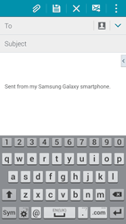 Samsung G900F Galaxy S5 - E-mail - Sending emails - Step 5