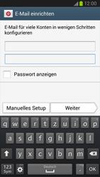 Samsung I9300 Galaxy S III - E-Mail - Konto einrichten (yahoo) - Schritt 6