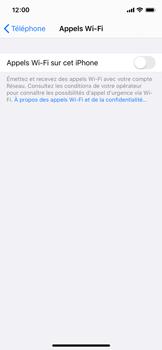 Apple iPhone 11 Pro - WiFi - Activez WiFi Calling - Étape 6