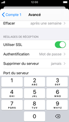 Apple iPhone SE - iOS 13 - E-mail - configuration manuelle - Étape 23