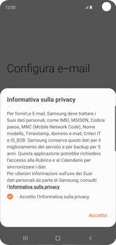 Samsung Galaxy S10 - E-mail - 032c. Email wizard - Outlook - Fase 11