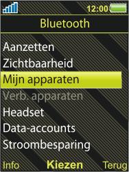 Sony Ericsson W995 - Bluetooth - headset, carkit verbinding - Stap 5