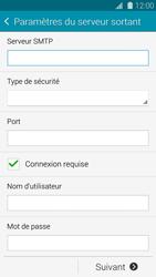Samsung Galaxy S 5 - E-mail - configuration manuelle - Étape 12