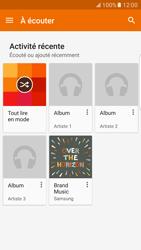 Samsung Galaxy S7 Edge - Photos, vidéos, musique - Ecouter de la musique - Étape 5