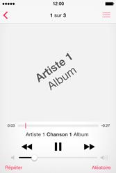 Apple iPhone 4S (iOS 8) - Photos, vidéos, musique - Ecouter de la musique - Étape 5