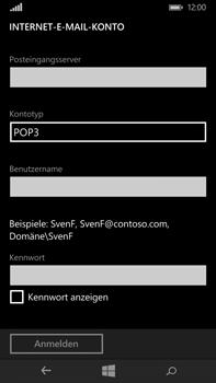 Microsoft Lumia 640 XL - E-Mail - Konto einrichten - Schritt 12