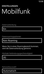 Nokia Lumia 925 - Netzwerk - Netzwerkeinstellungen ändern - Schritt 7