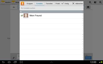 Samsung P5100 Galaxy Tab 2 10-1 - MMS - Erstellen und senden - Schritt 9