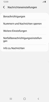 Samsung Galaxy S9 - Android Pie - SMS - Manuelle Konfiguration - Schritt 6