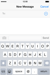 Apple iPhone 4s iOS 8 - MMS - Sending pictures - Step 3