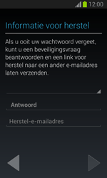 Samsung S7390 Galaxy Trend Lite - Applicaties - Account aanmaken - Stap 15