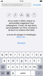 Apple iPhone 8 - iOS 13 - internet - hoe te internetten - stap 3