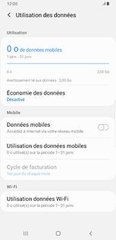 Samsung Galaxy Note9 - Android Pie - Internet et roaming de données - Comment vérifier que la connexion des données est activée - Étape 6