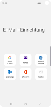 Samsung Galaxy S10 - E-Mail - 032b. Email wizard - Yahoo - Schritt 6