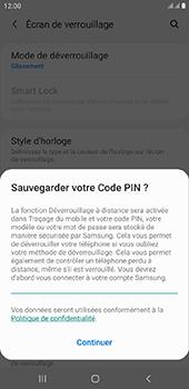 Samsung Galaxy J6 Plus - Sécurité - activéz le code PIN de l'appareil - Étape 12