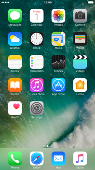 Apple Apple iPhone 7 Plus - Getting started - Personalising your Start screen - Step 2